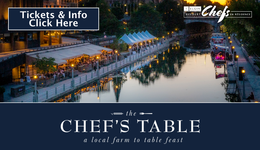 Ottawa 2021 Chef`s Table Event Poster