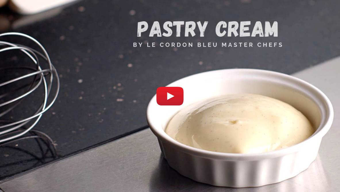 pastry cream video