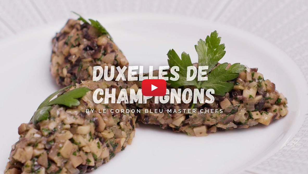 mushroom duxelle video