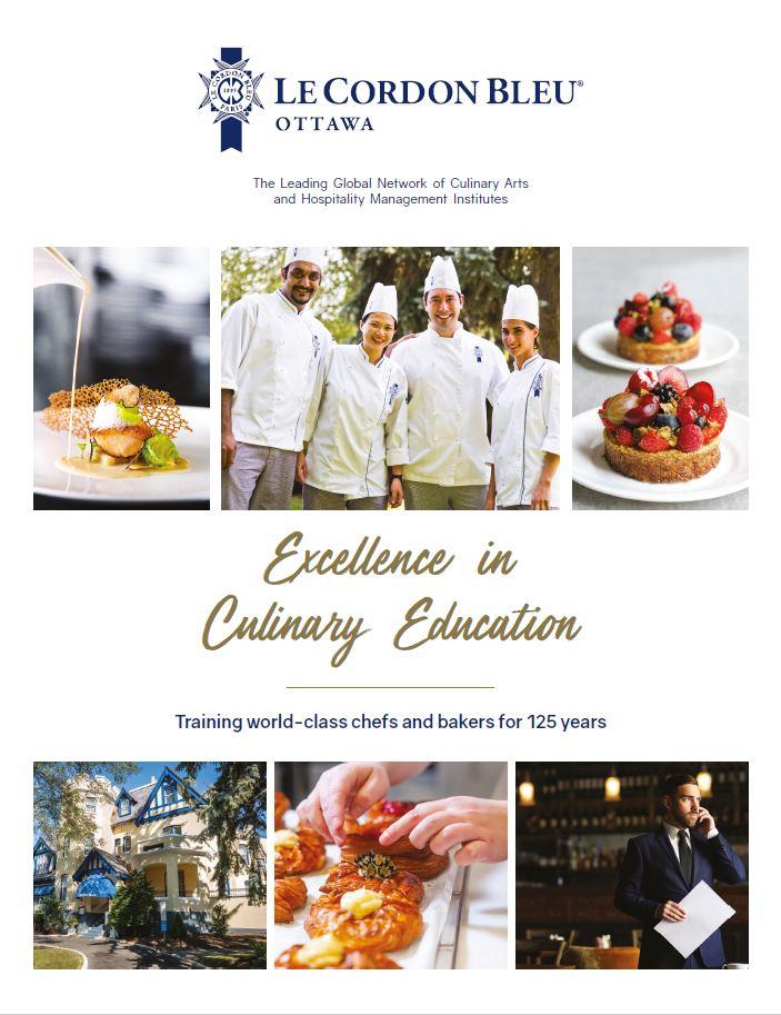 Le Cordon Bleu Ottawa 2021-2022 Brochure