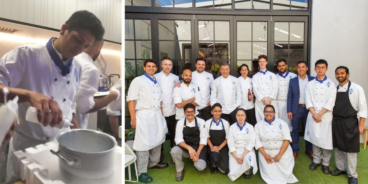 Aditya Pai and his Le Cordon Bleu peers