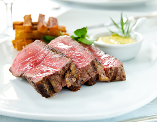 Recipe - Sirloin steak, Pont-Neuf French fries, Béarnaise sauce