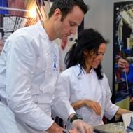 >Le Cordon Bleu Cuisine Chef Patrick Caals