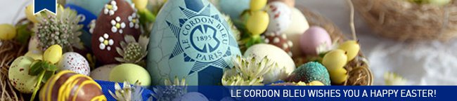 Le Cordon Bleu wishes you a Happy Easter!