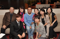 Guests from Taiwan Institute