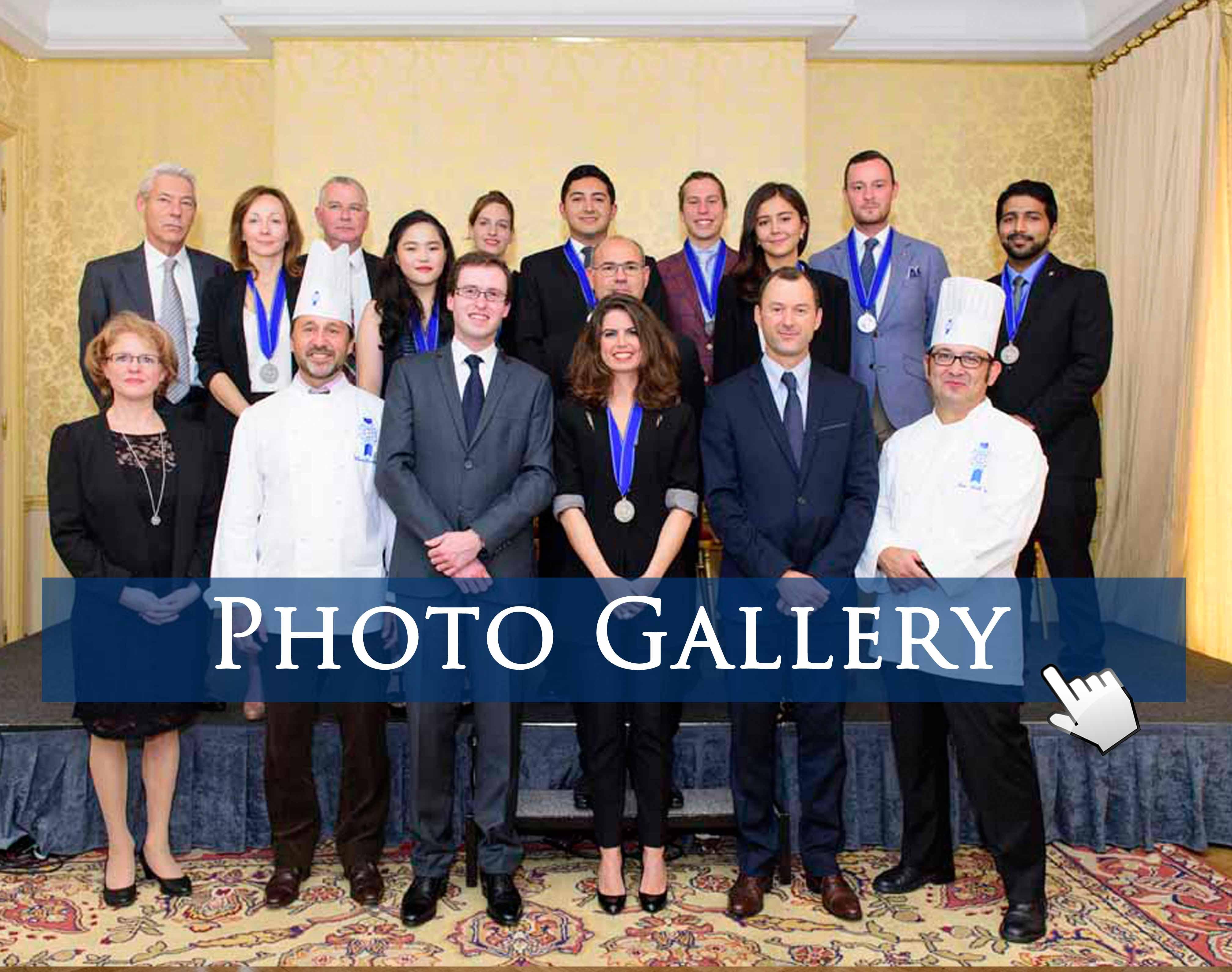 Graduation ceremony Restaurant Management Program