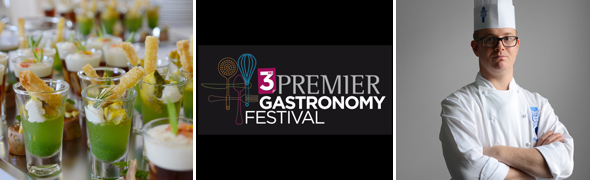 Master Chef Reginals Ioos at Premier Gastronomy Festival