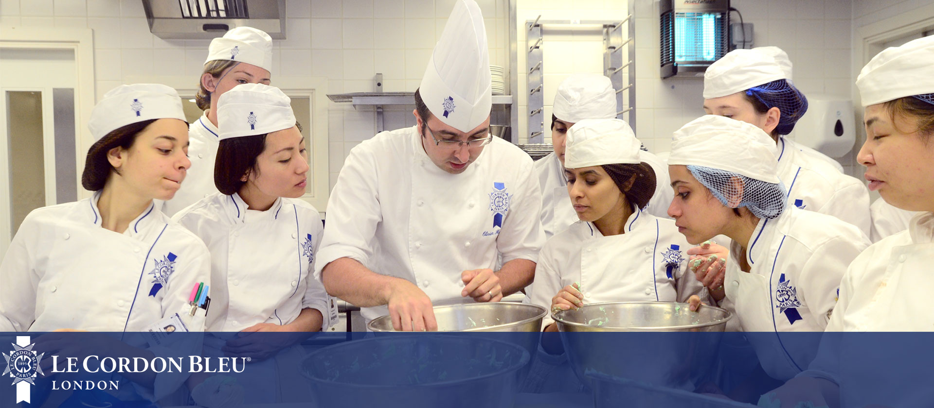 Pastry Chef Nicolas Houchet - Le Cordon Bleu London