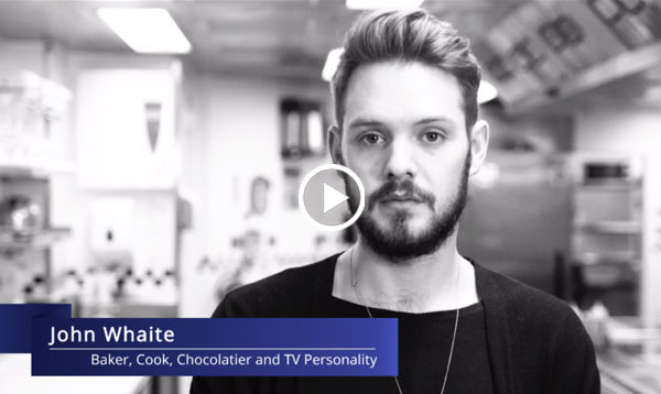 Alumnus John Whaite from Le Cordon Bleu London