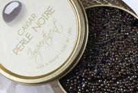 Caviar Perle Noire at Le Cordon Bleu London