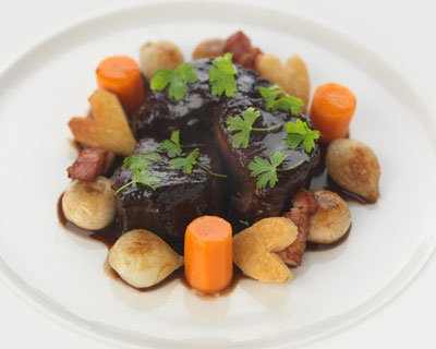 boeuf bourguignon cooking course at Le Cordon Bleu London