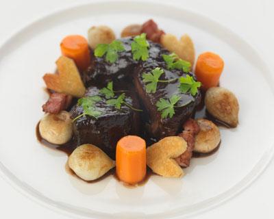 boeuf bourguignon cooking course at Le Cordon Bleu London