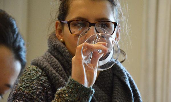 Studying Wine, Gastronomy and Management Joanna Kaczmarec's testimonia