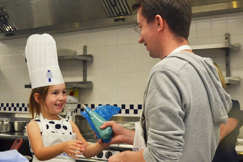 children cooking course