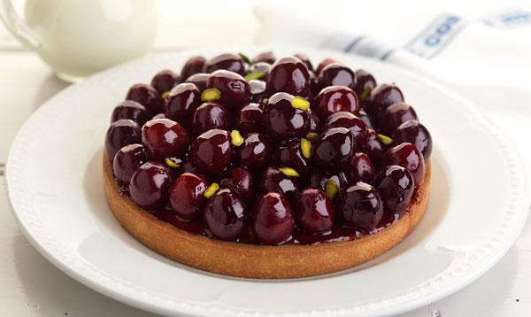 merlot cherry and almond cream tart recipe