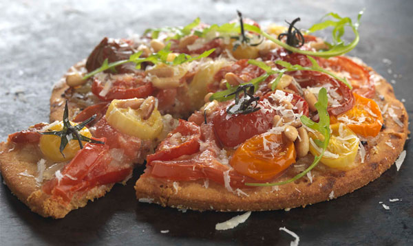 Try this delicious Tomato and Polenta Tart recipe