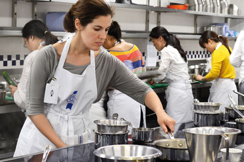 Discover the life of a Le Cordon Bleu London Cuisine student