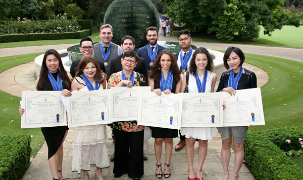 Le Cordon Bleu London graduates