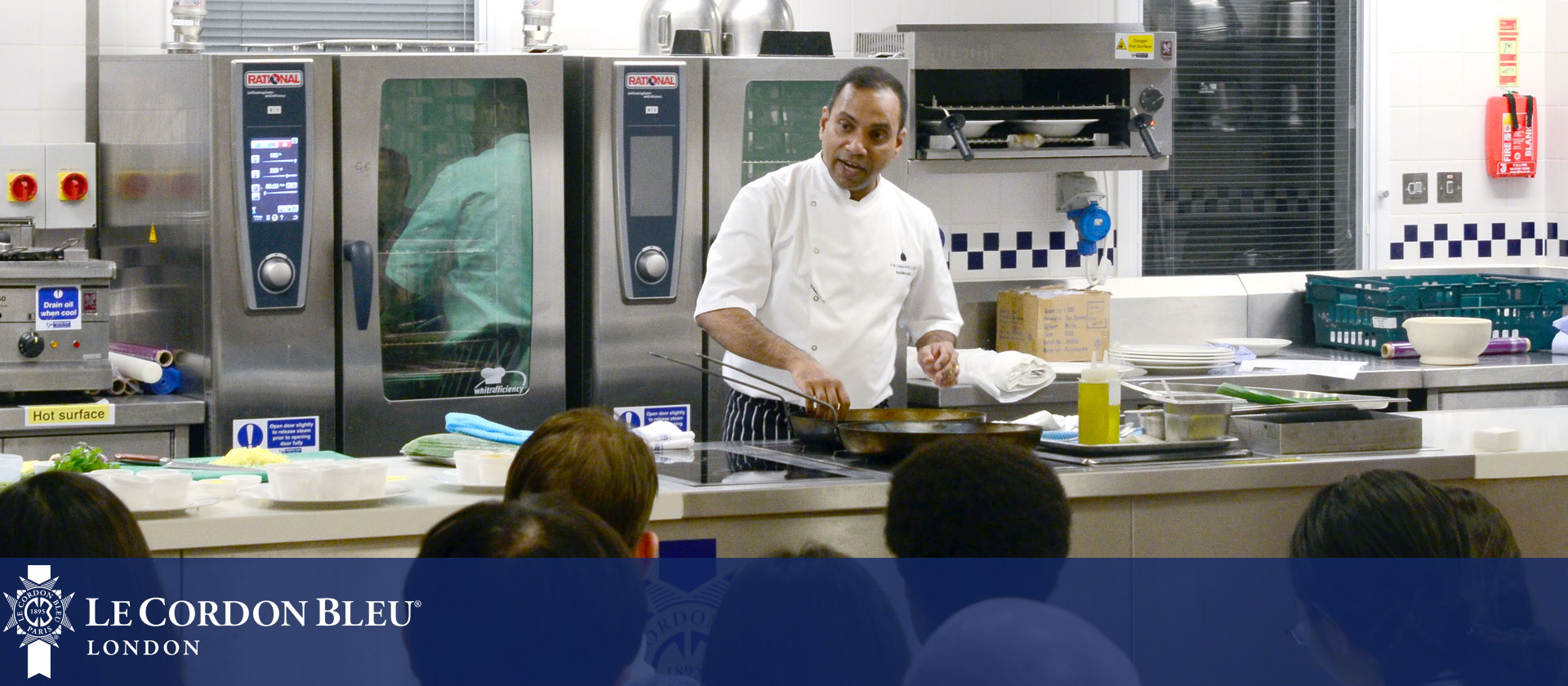 Rakesh Nair visits Le Cordon Bleu London