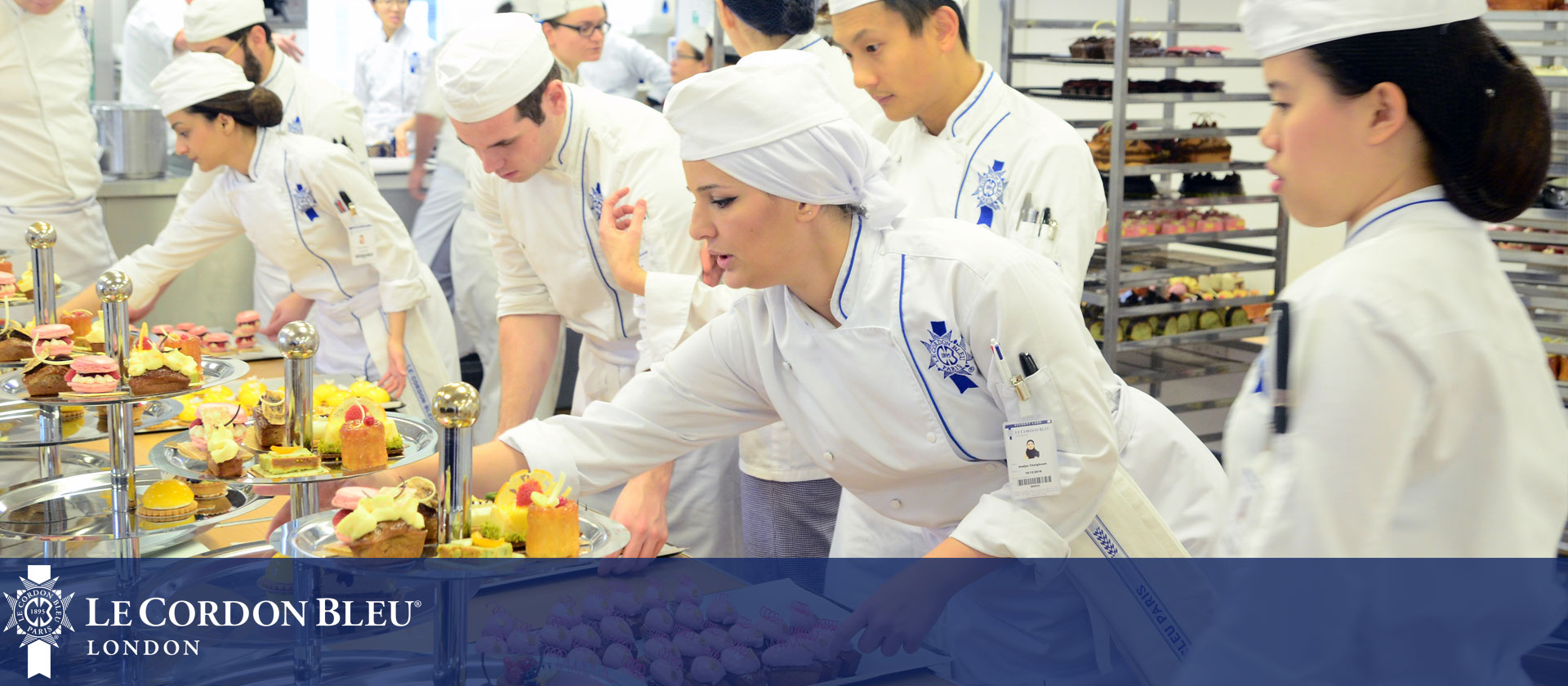 Paul Rhodes at Le Cordon Bleu London