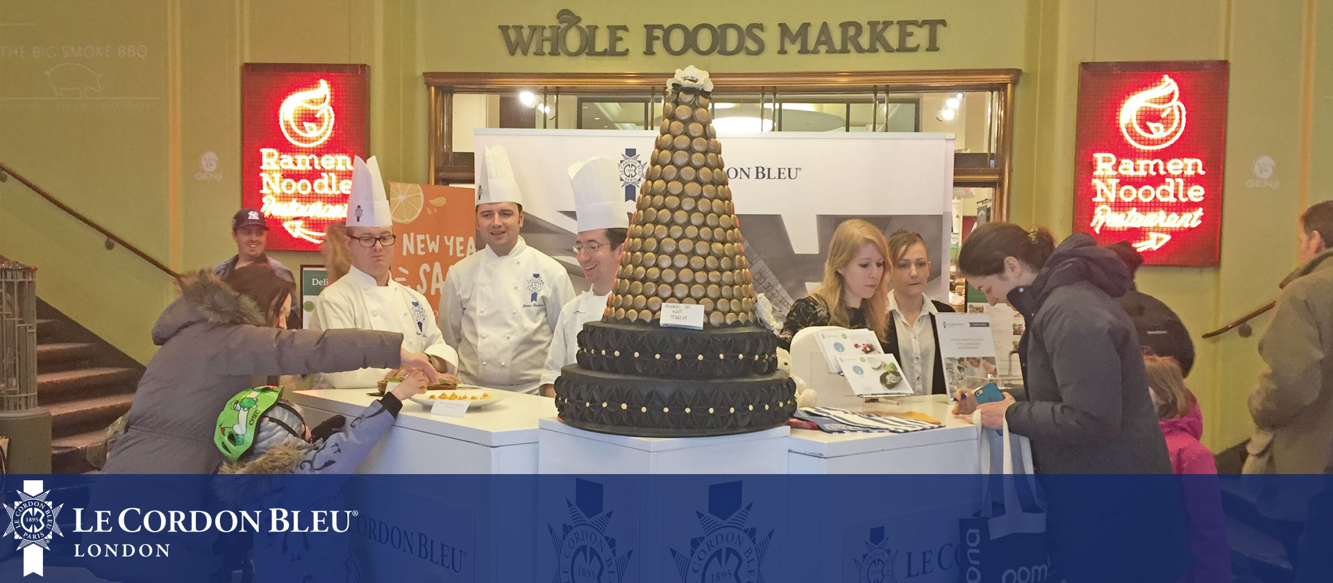 Le Cordon Bleu London at Whole Foods Market, Kensington