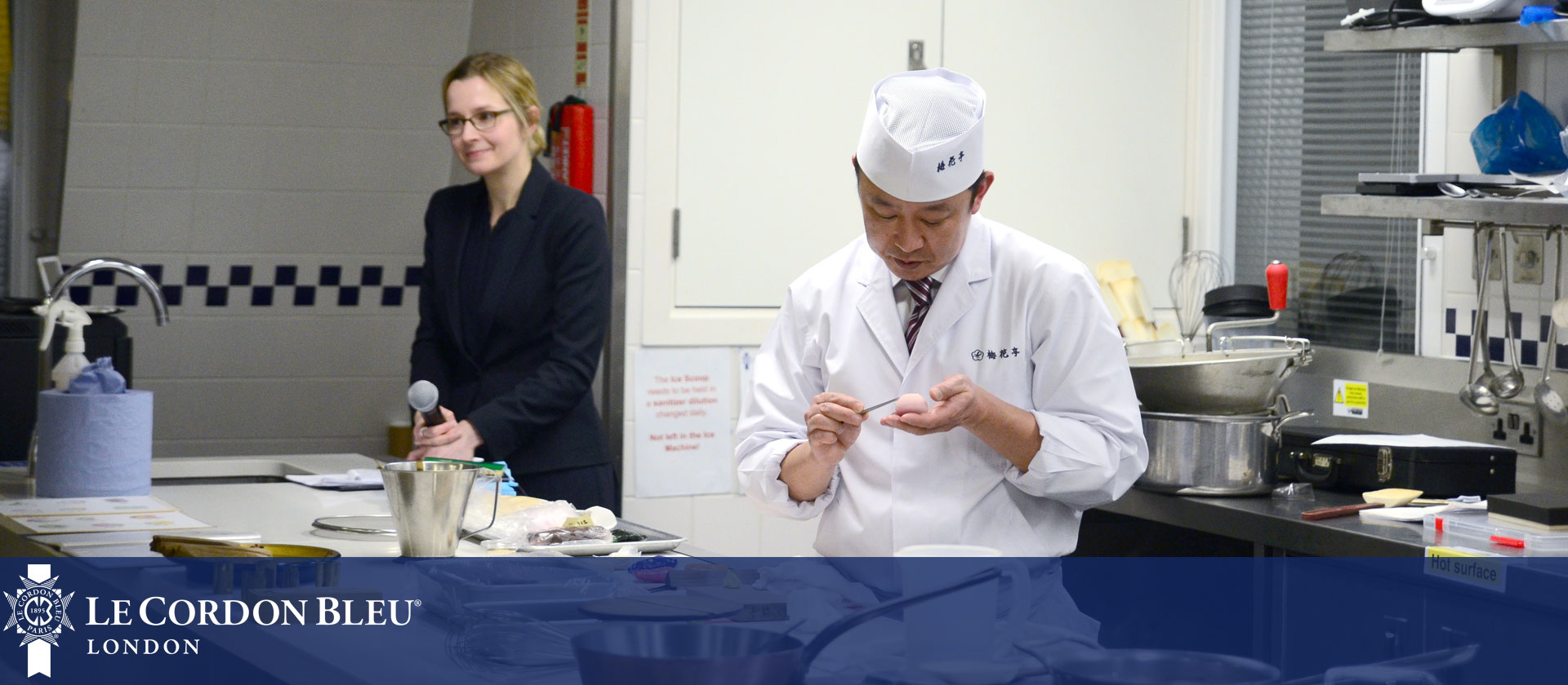 Le Cordon Bleu London Guest Chef Demonstration - Takeshi Inoue