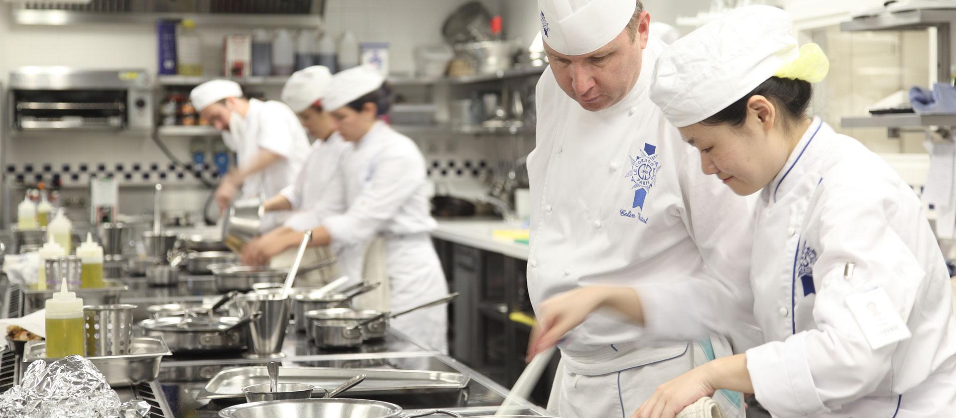 Cuisine Chef Colin Westal- le cordon bleu london