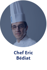 Head of Technical Cuisine Eric Bediat