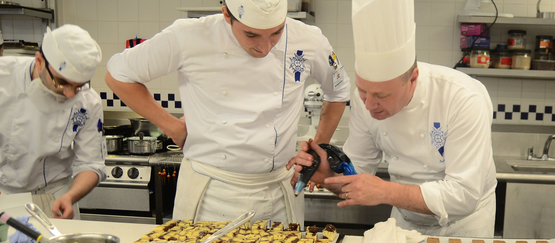 Pasrty Chef Ian Winton - le cordon bleu london