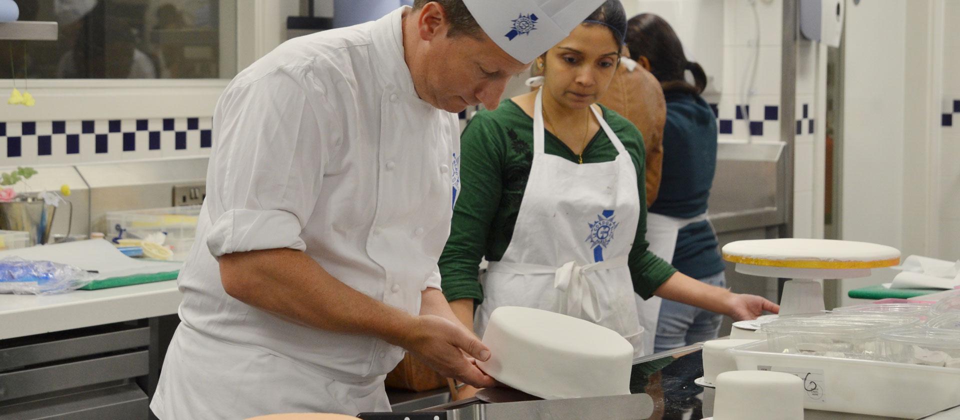 patisserie master chef matthew hodgett - le cordon bleu london