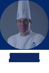 pastry Master Chef Graeme Bartholomew