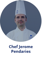 pastry Master Chef Jerome Pendaries
