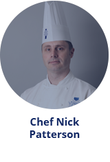 pastry Master Chef Nick Patterson