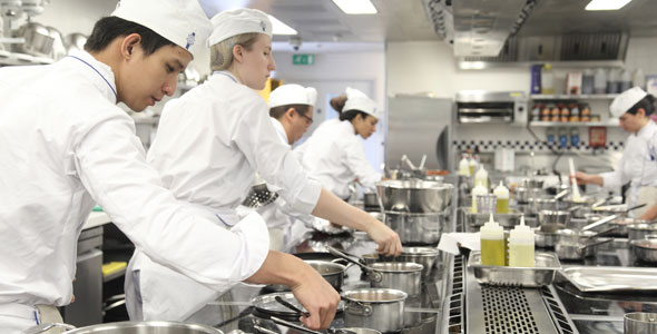 Learn culinary arts at Le Cordon Bleu London