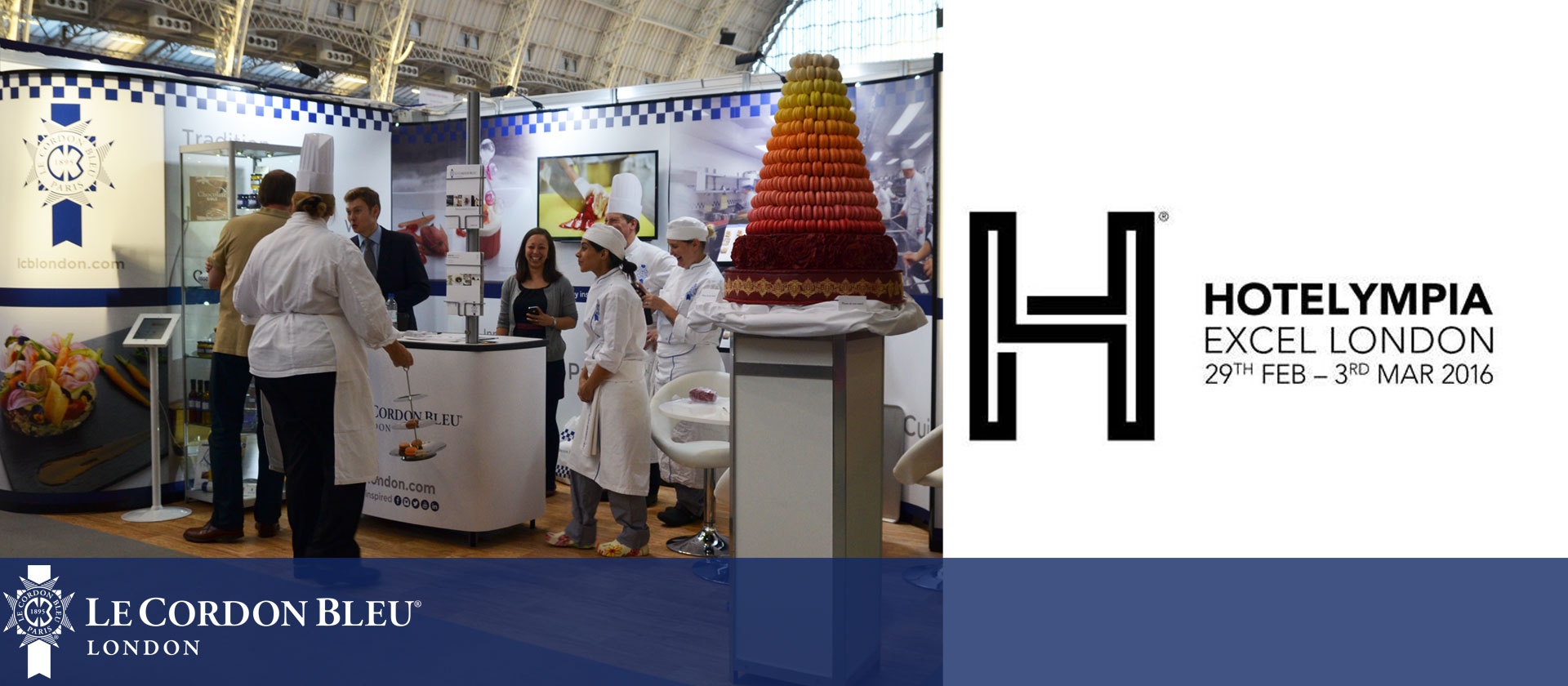 Le Cordon Bleu London Headline Sponsor at Hotelympia 2016