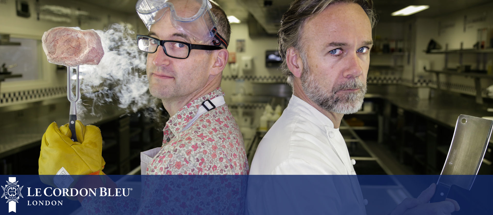 Chef vs Science BBC Four programme at Le Cordon Bleu London