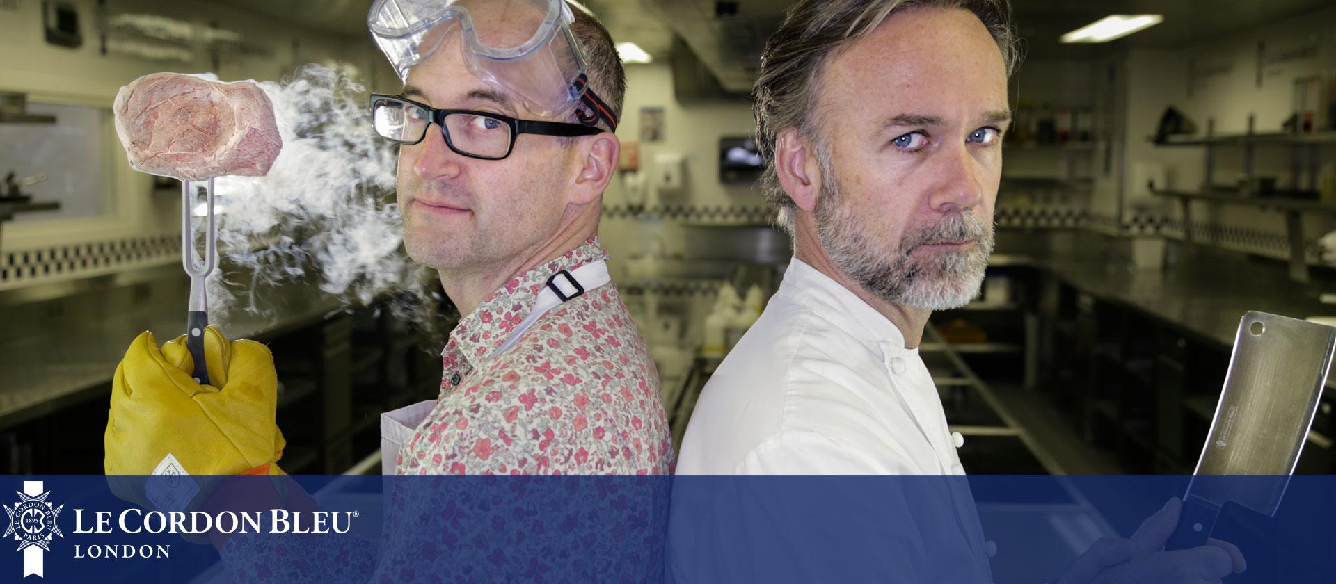 Chef vs Science BBC Four programme at Le Cordon Bleu London
