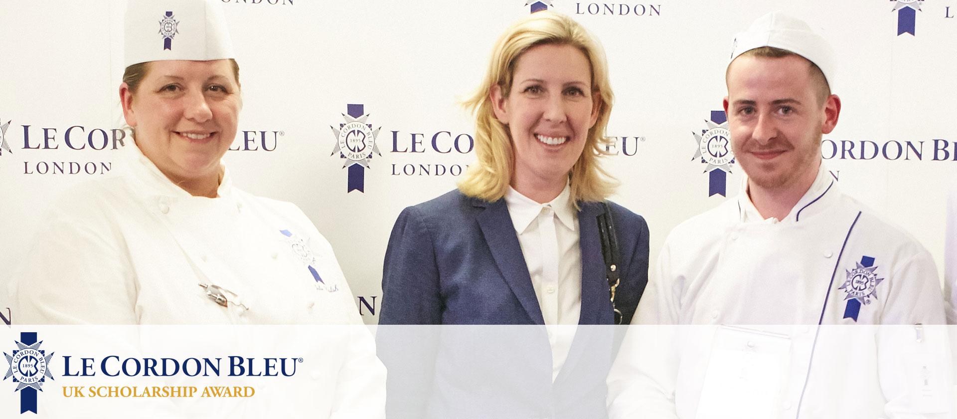 Keiron Murphy wins Le Cordon Bleu UK Scholarship Award with Clare Smyth